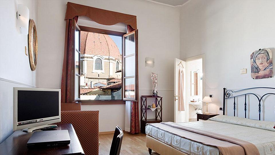Hotel Centrale Firenze stanza 1