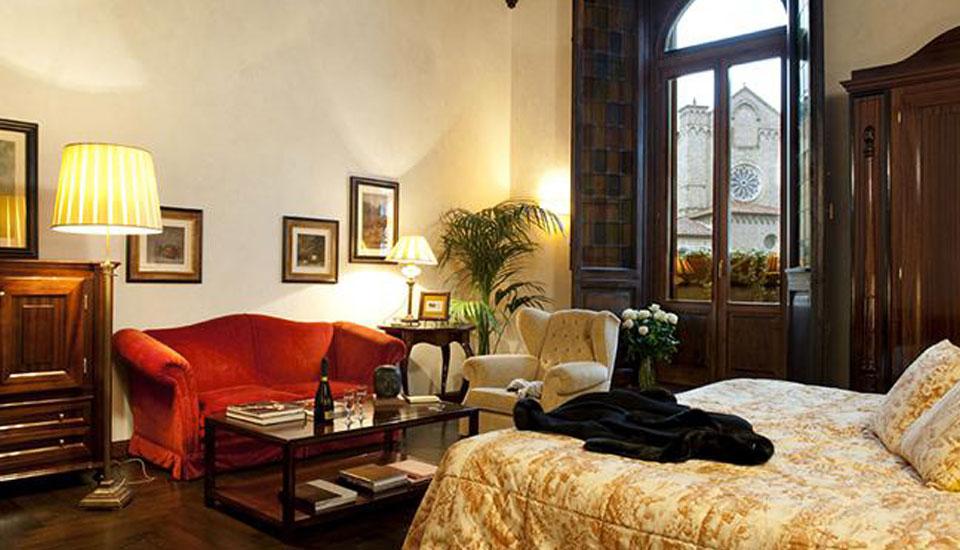 Grand Hotel Baglioni Firenze stanza 1